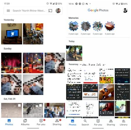 Nueva Interfaz Google Fotos