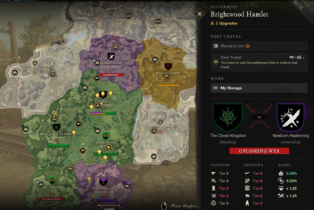Mapa New World