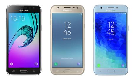 La evolución del Galaxy j3 al Galaxy j3 2018