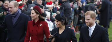 La familia real inglesa celebra las Navidades: Kate Middleton y Meghan Markle se convierten en las protagonistas