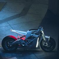 Así lucirá la versión racing de la XP Zero: una naked futurista con el par de un coche y el peso de una moto