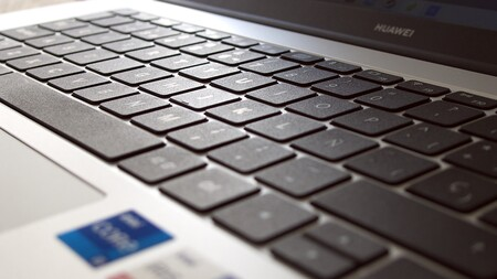 Huawei Matebook D15 2021 Review Xataka Espanol Teclado De Cerca