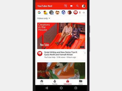 La app de YouTube estrena nuevo look en dispositivos móviles