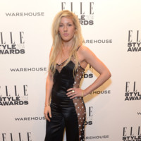 Ellie Goulding Matthew Williamson Otoño/Invierno 2014-2015 Elle Style Awards 2014 red carpet