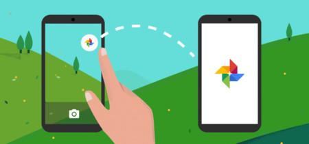 Cómo añadir en la aplicación Cámara un acceso directo a Google Fotos