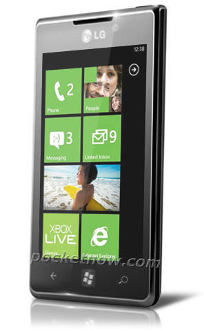 LG Miracle, un Windows Phone 7 para el Mobile World Congress