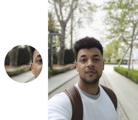 Selfie Samsung Galaxy M20