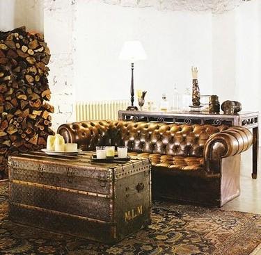 Baúles, maletas, arcones... ¿Por qué nos encanta incluirlos en nuestra decoración?