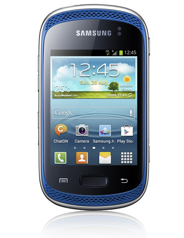 Samsung Galaxy Music Frontal
