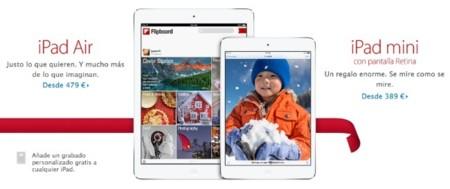 iPad mini con pantalla Retina ya disponible en la Apple Store online