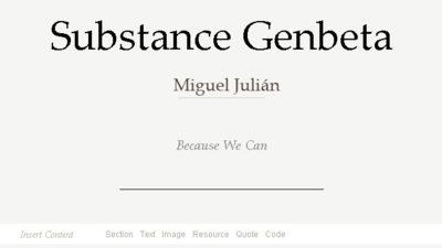 Substance, un editor de textos online open source