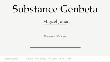 Substance, un editor de textos online open source