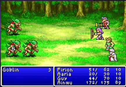 Remakes de Final Fantasy I y II para PSP