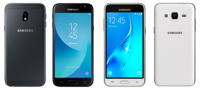 Galaxy J3 2017 Vs J3 2016
