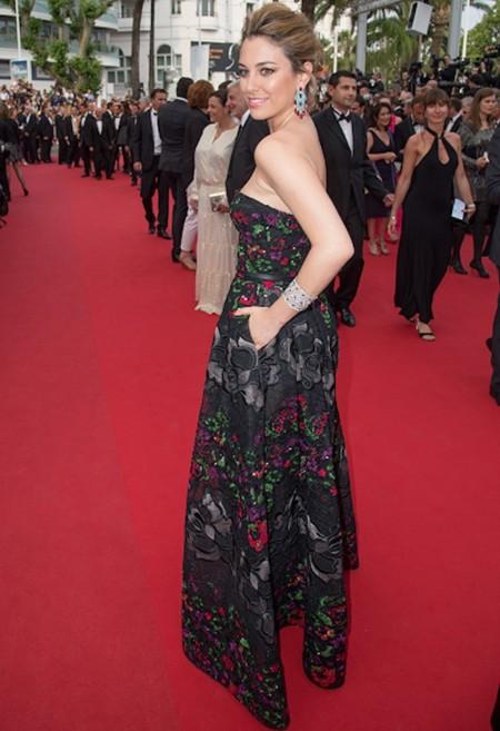 Blanca Suárez pisa la alfombra roja del Festival de Cannes rodeada de celebrities internacionales