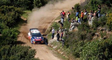 Rally de Cerdeña 2011: Dani Sordo mejora y Sébastien Loeb se queda líder en solitario