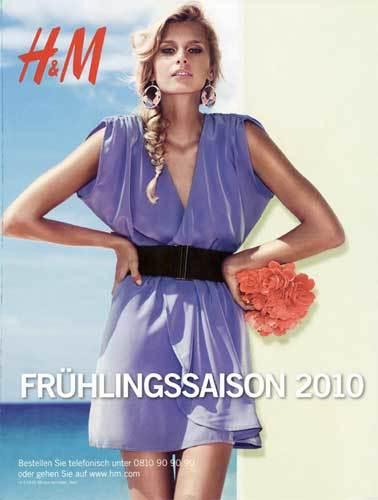 Catálogo de H&M Primavera-Verano 2010