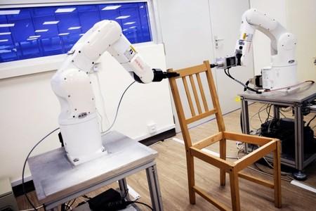 Estos robots muestran un futuro en el que no tendrás que montarte los muebles de IKEA