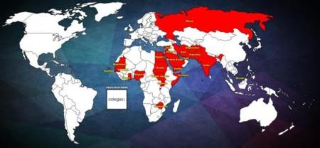 Mapa Homofbia
