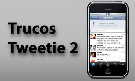 Cinco trucos y acciones imprescindibles para Tweetie 2