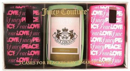 Carcasa para BlackbBerry de Juicy Couture