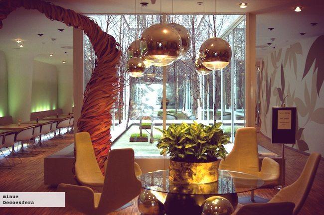 Hotel de Diseño Yasmin en Praga - recepción