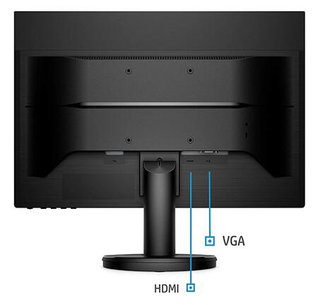 Monitor HP Full HD con descuento en Amazon México
