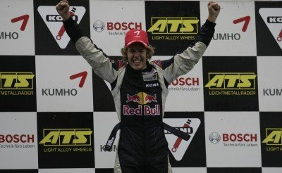 Vettel gana en la F3
