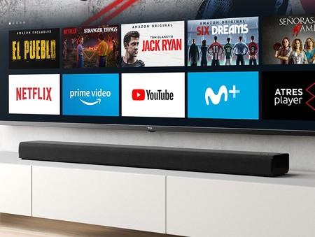 """La barra de sonido """"multiusos"""" de TCL baja a precios nunca vistos en Amazon: un chollo con Fire TV 4K y Alexa por 148 euros"""