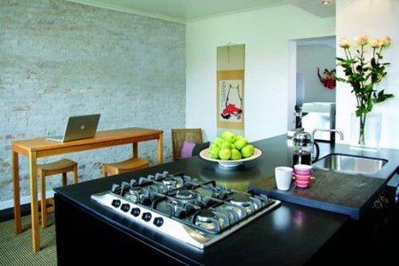 suelo negro - cocina y comedor2