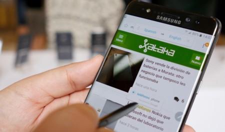 Samsung presenta finalmente el nuevo Galaxy Note 7: resistencia al agua y S-Pen mejorado