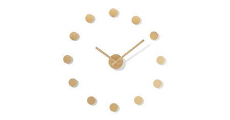 C79c43a96d8078e37240c3e91eff5a14a64cdd9a Clkran001zbs Uk Rani Circle Markers Diy Clock Brushed Brass Lb01
