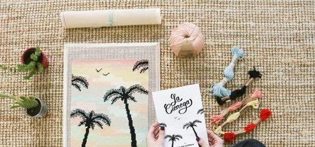 Súmate a la tendencia decorativa del petit point con estos kits DIY para todos los públicos