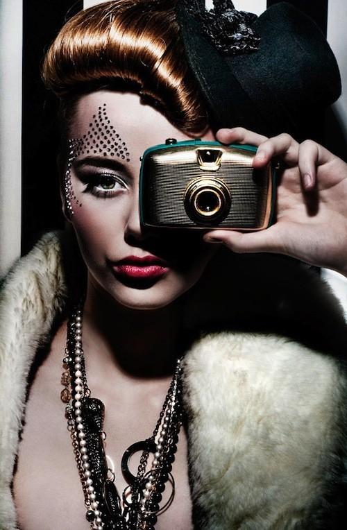 Foto de Simona Smrckova y el glamour retro de sus fotografías  (2/8)