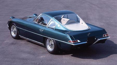 Lamborghini 350 GTV vista posterior