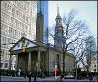 Iglesia de Saint Paul, el edificio más antiguo de Nueva York