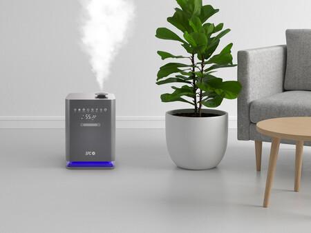 SEDNA: este humidificador se integra en el hogar para poder controlarlo por medio de Google Assistant y Alexa