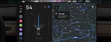 Este concepto imagina como sería la pantalla del Tesla Model 3 si la hiciera Apple