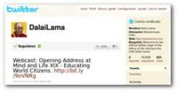 El Dalai Lama estrena cuenta en Twitter