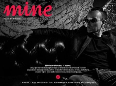 Mine, la nueva revista digital sobre estilo de vida para iPad
