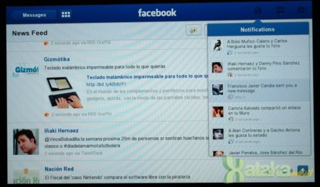 Facebook para Playbook