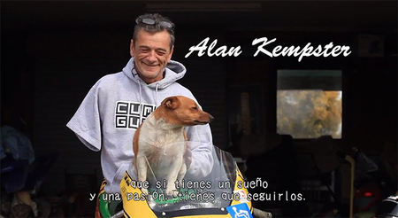 La experiencia de Alan Kempster, una pierna, un brazo y competición