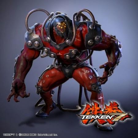 El nuevo luchador de Tekken 7 parece un villano de Batman. O directamente Hulk Rojo