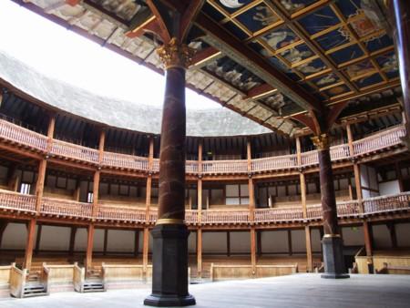 Globe Theatre Innenraum