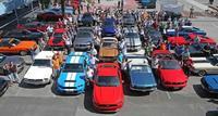 Más de 750 Mustangs para celebrar el 50 aniversario del Ford Mustang