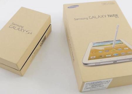 Samsung Galaxy S4 y Samsung Galaxy Note 8.0 aparecen en su primer vídeo unboxing