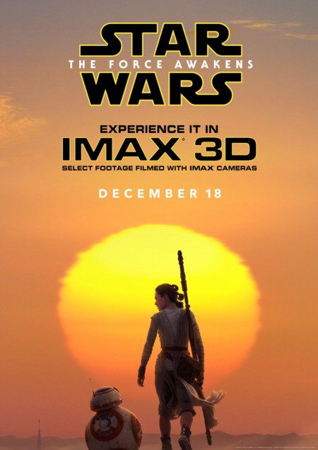 Cartel IMAX de Star Wars: Episodio VII