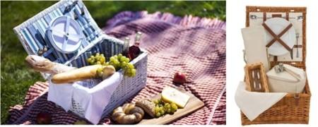 La cesta de picnic desde hace 60 años