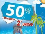 Selección de juguetes al 50 % de descuento la segunda unidad en Juguetilandia