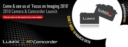 Panasonic presentará nuevas cámaras en Marzo